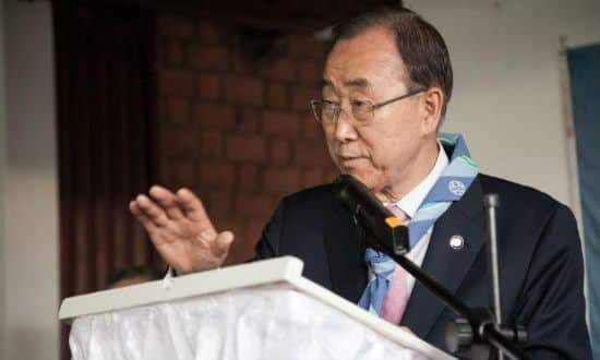 Ban Ki-moon, pediu calma e diálogo ao Brasil.