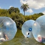 Water Ball, uma das atrações do Vale Verde