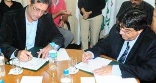 Assinatura do termo de cooperação para o desenvolvimento rural sustentável em municípios da bacia hidrográfica do Rio Doce