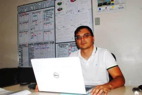 Luciano Freitas Fernandes, médico infectologista do Hospital Dilson Godinho - Foto:Rubens Santana