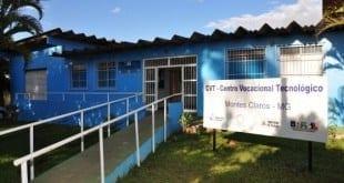 Centro Vocacional Tecnológico de Montes Claros disponibiliza 92 vagas em cursos gratuitos