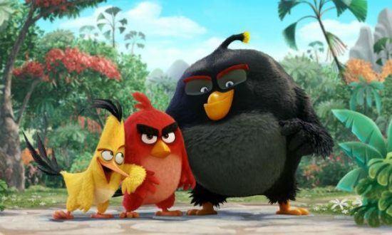 Cinema - Estreia de Angry Birds