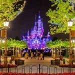 Foto do castelo de todas as Princesas