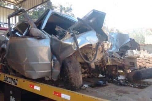 MG - Quatro jovens morrem em acidente quando voltavam de uma festa de casamento