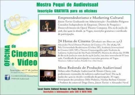 Montes Claros - 1ª Mostra Pequi Audiovisual do Norte de Minas em Montes Claros
