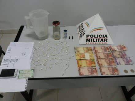 Norte de Minas - Adolescente é apreendido por tráfico de drogas em Itacarambi - Foto: Polícia Militar