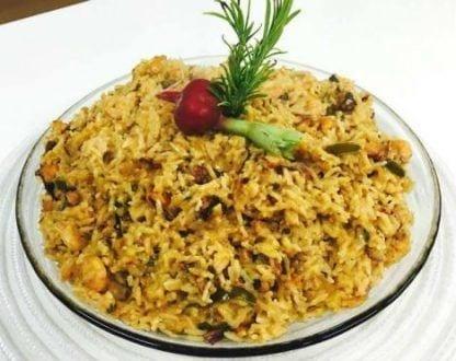 Gastronomia - Receita de risoto de polvo e camarão