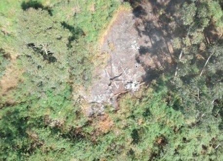 Bombeiros encontram destroços de helicóptero desaparecido em São Paulo