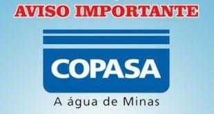 Montes Claros – Copasa interrompe abastecimento de água em Montes Claros no dia de hoje 30/06