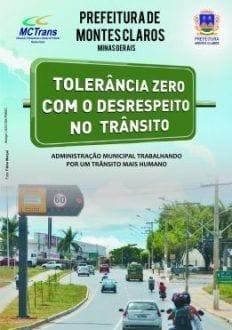 Montes Claros - Prefeitura de Montes Claros lança cartilha contra o desrespeito no trânsito