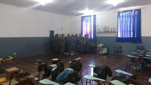 MG - Bombeiros de Curvelo ministram treinamento de primeiros socorros para o Exército
