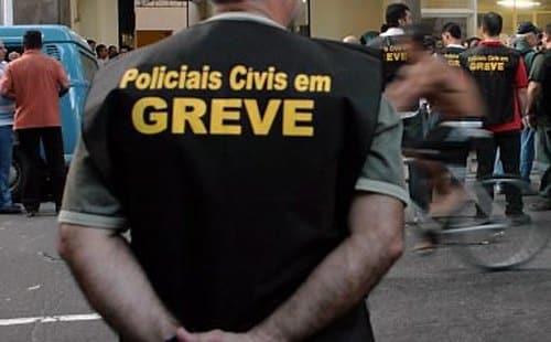 MG - Polícia Civil entrará em greve por tempo indeterminado em Minas Gerais