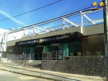 Montes Claros - Nova sede da Câmara Municipal de Montes Claros está com estrutura comprometida