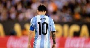 Lionel Messi anuncia o fim da sua carreira com a seleção argentina
