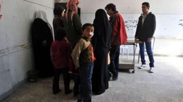 Na Síria antes do conflito, doença estava restrita a partes de Alepo e Damasco