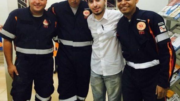 Norte de Minas - Equipe de Samu Bonito de Minas salvam idoso de ataque cardíaco