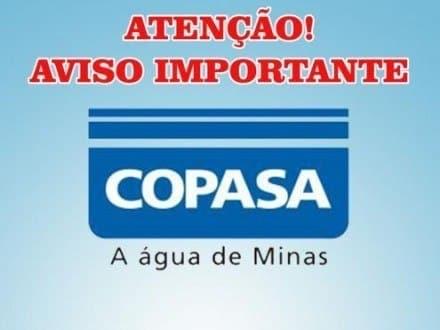 Montes Claros - Copasa interrompe abastecimento de água em Montes Claros no sábado dia 09/07