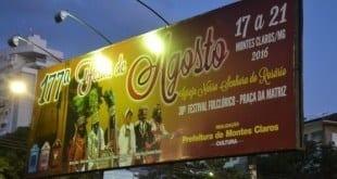 Festas de Agosto de Montes Claros - Programação religiosa já tem data definida