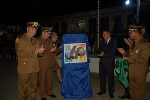 Montes Claros - 11ª RPM realiza solenidade de comemoração dos sessenta anos do 10º BPM