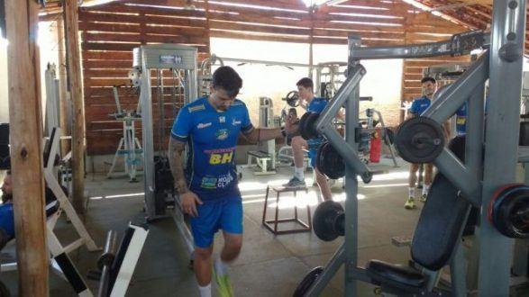 Vôlei - Os atletas do Montes Claros Vôlei começam as atividades em ritmo acelerado