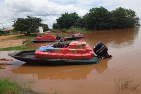 Polícia Federal desarticula organização criminosa que atuava em nova rota fluvial