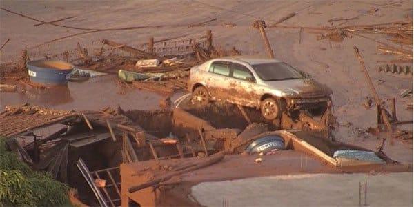 O acordo era para a recuperação ambiental da área atingida pelo rompimento da barragem de rejeitos do Fundão, em Mariana, Minas Gerais