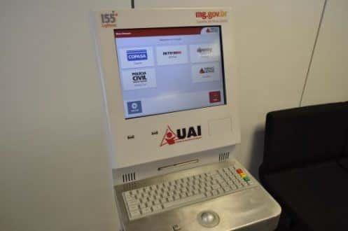 MG - Atestado de antecedentes passa a ser emitido nos terminais de autoatendimento das UAIs em Minas