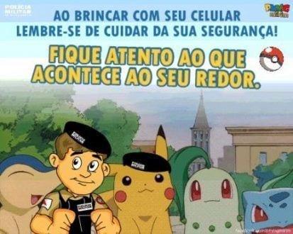 Montes Claros - PM prende homem por tentativa de roubo a dois adolescentes que jogavam Pokémon Go