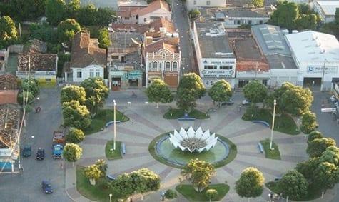 Praça Getúlio Vargas em Januária