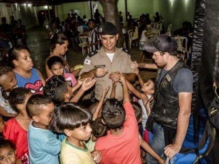 """Montes Claros - 10º BPM realiza IV edição do projeto """"Sopão Solidário"""""""