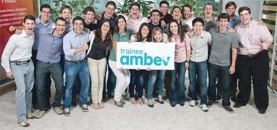 Ambev abre inscrições para programa de trainee