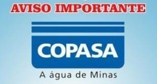Montes Claros – Copasa interrompe abastecimento de água em Montes Claros no dia de hoje 06/08
