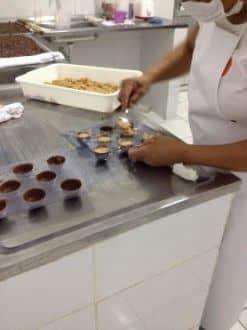 Fabricação de trufas - Foto: Divulgação/Utramig