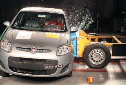 Motor - Teste de impacto lateral rebaixa a nota do Fiat Palio