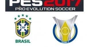 Games - Konami e CBF confirmam: Brasileirão será licenciado no PES 2017