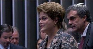 Ao Vivo - Dilma chega ao Senado para apresentar defesa ao plenário