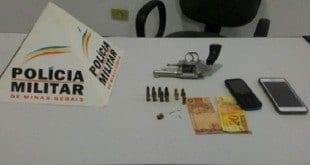 Norte de Minas - Polícia Militar prende autor de homicídios em Itacarambi