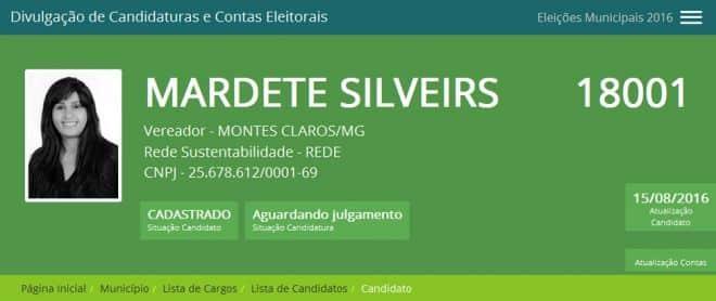 O casal Dr. Silveira e Mardete Silveira disputa a vaga de vereador pelo mesmo partido