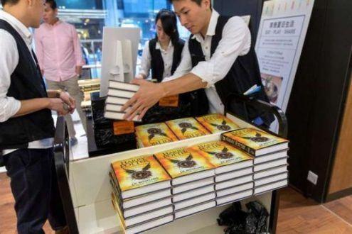 Lançamento do novo livro da saga Harry Potter em Londres