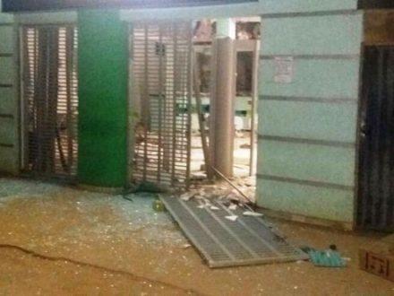 Norte de Minas - Bandidos explodem caixa eletrônico em Jaíba