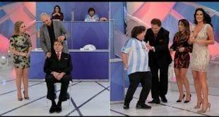 """O dia em que Silvio Santos foi hipnotizado e """"viu"""" Helen Ganzarolli pelada"""