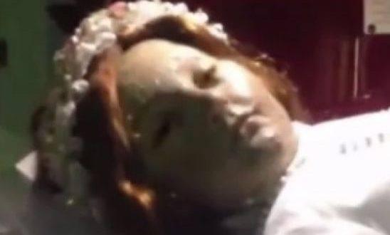 Vídeo - Santa embalsamada há 300 anos no México aparece abrindo os olhos