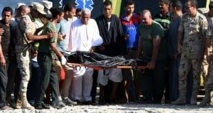 Oriente Médio - Egito recupera 148 corpos no mar após naufrágio