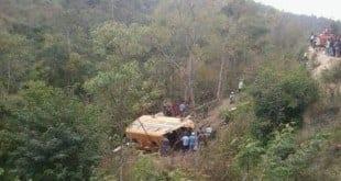 Norte de Minas - Acidente com ônibus escolar deixa quatro mortos em Padre Paraíso