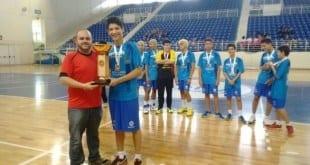 Pedro Alves Mendes Pereira, escolhido como o melhor jogador da competição