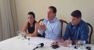 Eleições 2016 - Em coletiva de imprensa, Ruy Muniz diz que concorrera no 2° turno das eleições