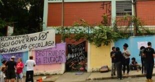 Estudantes protestam contra a MP 746 e PEC 241