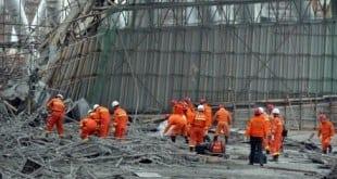 Ásia - Acidente em central elétrica deixa mais de 60 mortos na China