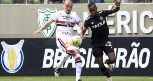 Brasileirão 2016 - São Paulo vira sobre o Atlético-MG