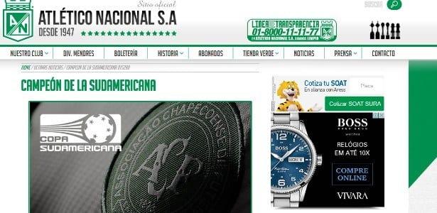 Atlético Nacional pede que Conmebol declare Chapecoense campeã